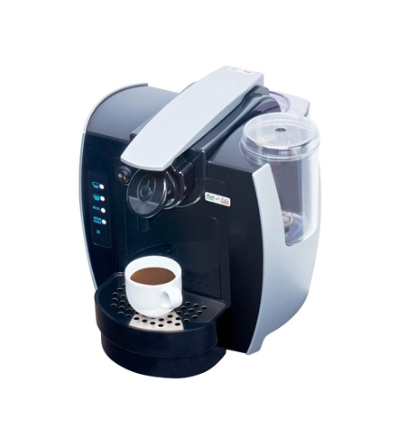 фото: Кофемашина капсульная Lavazza Blue Capitani Espresso Sweety 1000 Вт, серебристая