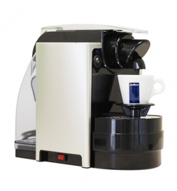 фото: Кофемашина капсульная Lavazza Blue Espresso del Capitano 1000 Вт, серебристая