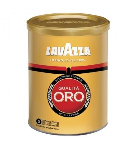 фото: Кофе молотый Lavazza Qualita Oro 250г, ж/б