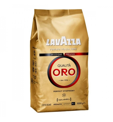 фото: Кофе в зернах Lavazza Qualitа Oro 1кг, пачка