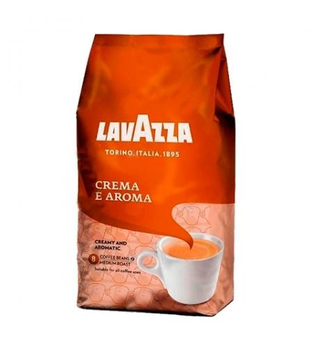 фото: Кофе в зернах Lavazza Crema е Aroma 1кг, пачка
